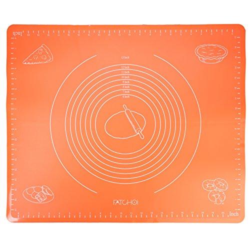 Fatchoi Silicone Baking Mat For Pastry Rolling With