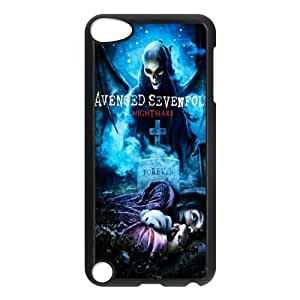 Custom Case Music Band Avenged Sevenfold&7 Apple iPod Touch 5th Case