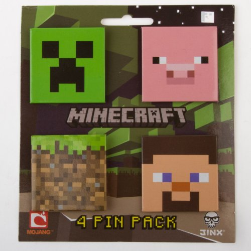 minecraft-button-4-pack-includes-creeper-grass-block-steve-and-pink-piggly-wiggly