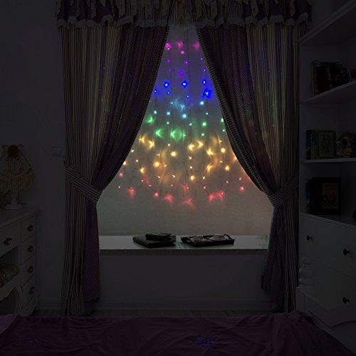 Fefelightup Rainbow Curtain Lights Fairy Lights Icicle Lights Fantasy Unicorn (Rainbow) by FEFE (Image #9)