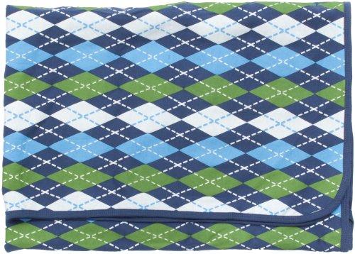 Blanket Argyle Green & Blue - Argyle Green Blue