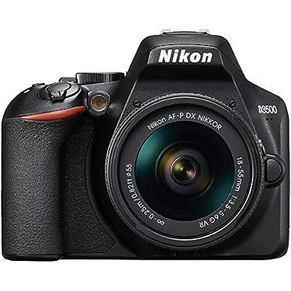 Nikon D3500 DX-Format DSLR Two Lens Kit with AF-P DX Nikkor 18-55mm f/3.5-5.6G VR & AF-P DX Nikkor 70-300mm f/4.5-6.3G… 2