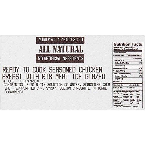 Dutch Quality House Natural Ready to Cook Chicken Breast Fillets, 4 Ounce - 1 each. by Dutch Quality House