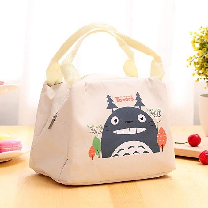 Nueva bolsa de almuerzo con aislamiento Totoro de dibujos animados ...