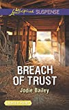 img - for Breach of Trust (Love Inspired Suspense Large Print) book / textbook / text book