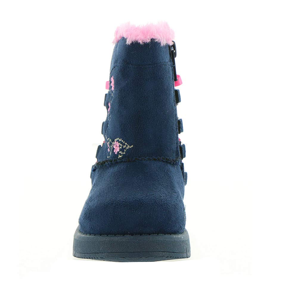 Skechers Sparkle Glam 89184N Girls Infant-Toddler Boot 7 M US Toddler Navy