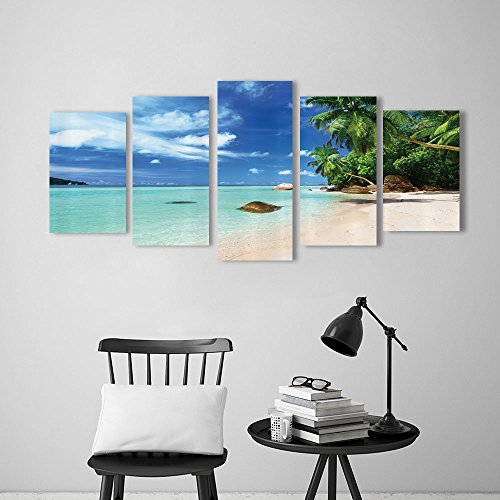 canvas wall art Beach Dreamcatcher Ibiza Sunset Mediterranean for sale  Delivered anywhere in Canada
