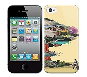 Best Power(Tm) HD Colorful Painted Watercolor Tree Of Modern Art Hard Phone Case For Iphone 4/4S