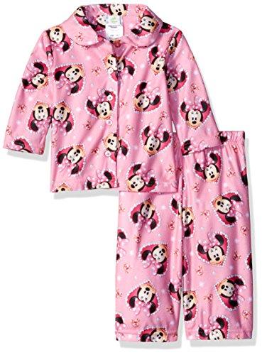 Disney Girls Minnie 2 Piece Pajama
