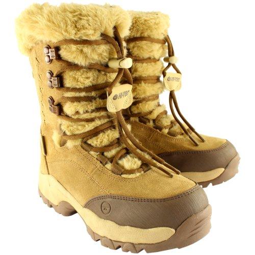Winter Hi Fur Boots Suede Womens 200 Calf Tec Moritz Brown Snow II Mid Faux St AnqwBzqR