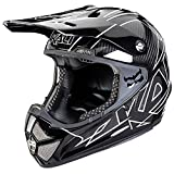 Cheap Shiva Carbon Full Face Helmet Stripes Black XS