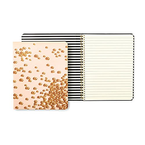 Kate Spade New York Concealed Spiral Notebook Pink Pearls by Kate Spade New York