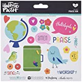Bella Blvd 1247 Illustrated Faith Basics Stickers, 6
