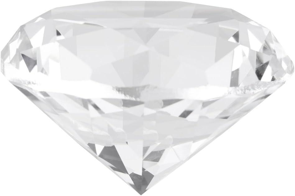 Diamante Cristalino Cortado Piedra Sintética de Diamante de 60mm