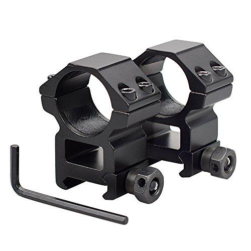 (OTW Rings Mount Medium Profile Light Duty 1 Inch 2 Sets 20mm Picatinny Weaver Rail Scope Rings)