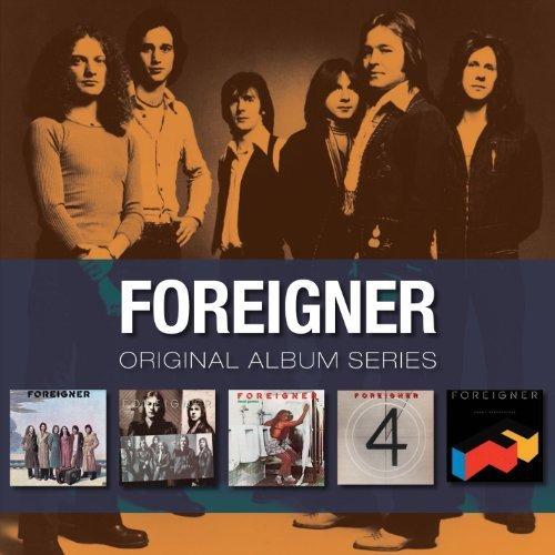 Original Album Series:4/Agent Provocateur/Double Vision/Foreigner/Head Games by Foreigner Box set edition (2010) Audio CD