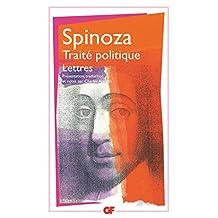 OEUVRES SPINOZA T04 : TRAITÉ POLITIQUE-LETTRES
