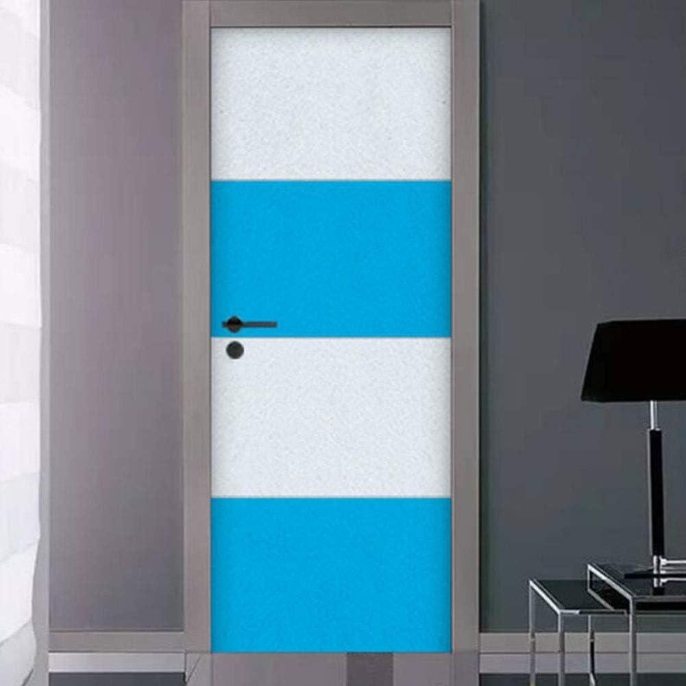 QIDI- Acustica Paneles Baldosas de Alto Rendimiento acústico Puerta insonorizada (Color : White Blue): Amazon.es: Hogar