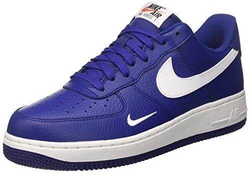 Nike Mænds Air Force 1 Lav Læder Basketball Sko KJDPKPTd