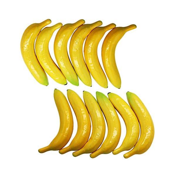 YOFIT-Artificial-Lifelike-Simulation-Yellow-Banana-12-Pcs-Fake-Fruit-for-Home-House-Kitchen-Party-Decoration