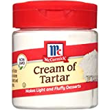 McCormick Cream Of Tartar (Essential Baking Ingredient), 1.5 oz
