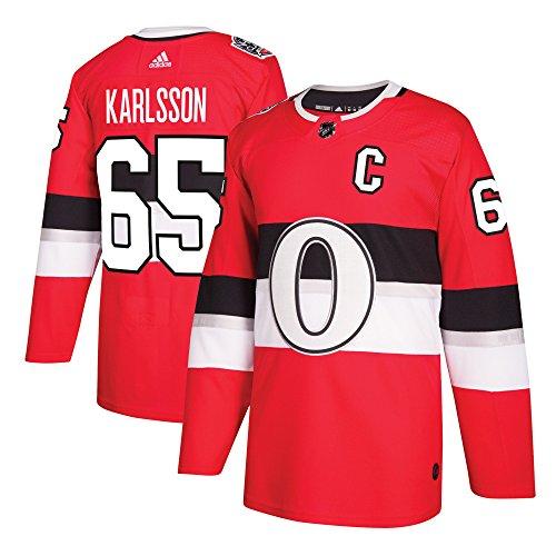 Ottawa Senators Adidas Erik Karlsson 100th Year Authentic Pro Jersey Red – DiZiSports Store