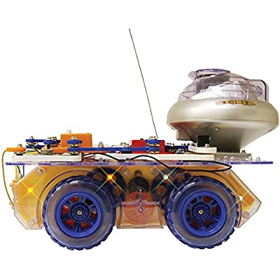 Snap Circuits Deluxe R/C Snap Rover Electronics Discovery Kit by Elenco Electronics Inc