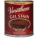 Varathane 224493H Premium Gel Stain, Quart, Dark Walnut