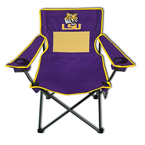 LSU Tigers Deluxe Arm Chair - Camping - Lsu Tailgate Tigers Chair