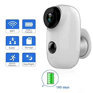 Battery Operated Security Camera >> Rechargeable Battery Outdoor Security Camera Amazon Co Uk Camera