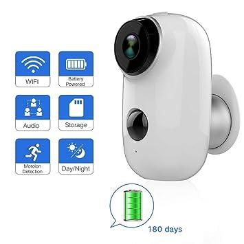 Camera Exterieur Sans Fil Batterie Lithium