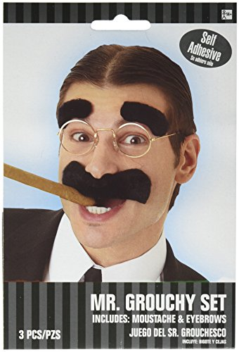 Amscan Mr. Grouchy Wacky Facial Hair