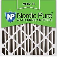 Nordic Pure 20x20x4M13-1 20x20x4 MERV 13 Pleated AC Furnace Air Filter, Box of 1, 4-Inch