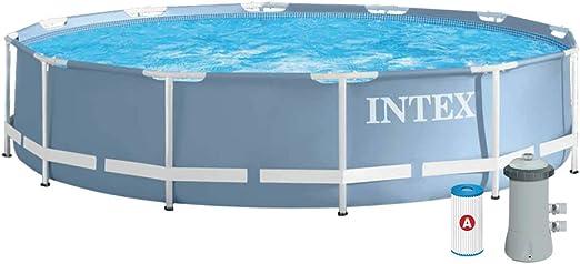 Intex - Piscina desmontable Intex & depuradora 366x76 cm - 6.503 l ...
