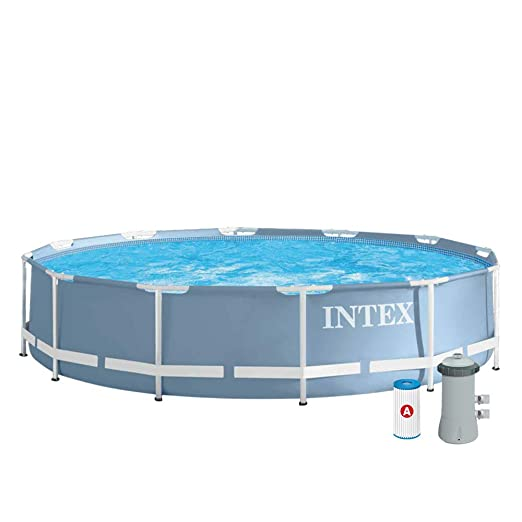 Intex - Piscina desmontable Intex & depuradora 366x76 cm - 6.503 l ...
