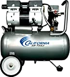 California Air Tools CAT-6310 Ultra Quiet and Oil-Free 1.0 Hp 6.3-Gallon Steel Tank Air Compressor