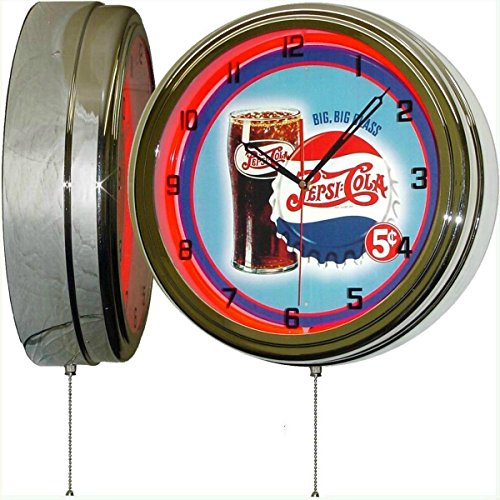 (PEPSI Cola Big Big Glass 15