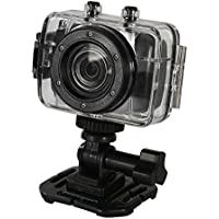Vertigo 120 2.0 Full Touch Screen, Waterproof Sports & Action Video Camera, Black