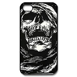 Custom Cell Phone Case for Iphone 4,4S with Skull shsu_1987076 at SHSHU