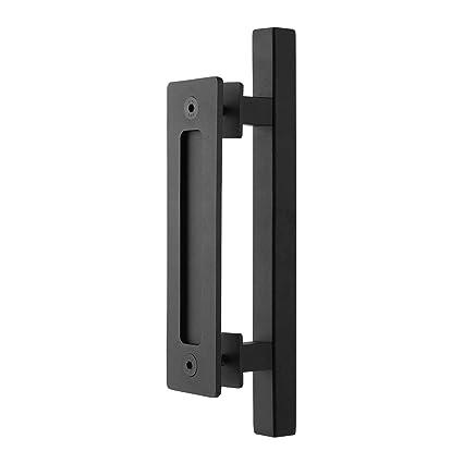 amazon com seido heavy duty 10 inches pull and flush barn door