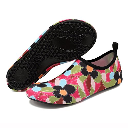 Sun Socks Women Men for Water Beach Flower Aqua Yoga Snorkeling EASTSURE Shoes Shoes Surf Sport Swim zY61fqw