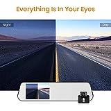 BOSCAM Touch Screen Backup Camera Mirror Dash Cam