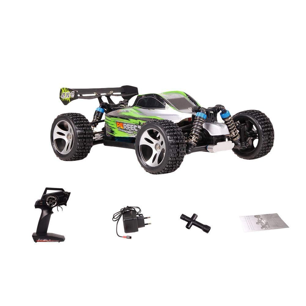GHz ferngesteuertes Auto Wettbewerbsfähiges Rennwagen Allradantrieb Off-Road Drift Hohe geschwindigkeit Alles Gelände, 1:18 RC Spielzeugauto mit Fernbedienung