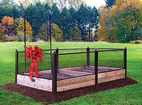 Burpee Complete Raised Bed Garden | Repel Small Animals | Irrigation Kit Included | Easy to Assemble