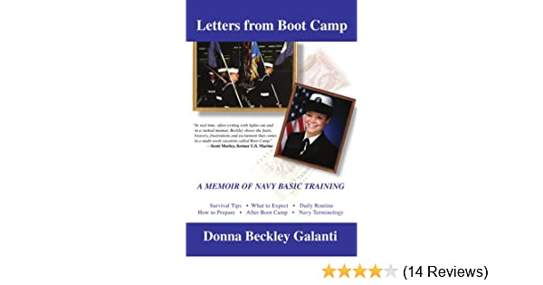 Letters From Boot Camp: A Memoir of Navy Basic Training: Donna