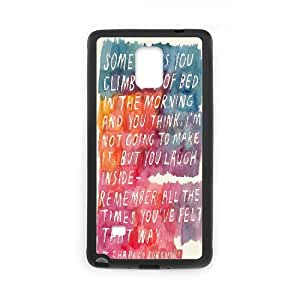 Samsung Galaxy Note 4 Cases Hardshell Charles Bukowski, Art Printing Case for Samsung Galaxy Note 4 Edge [Black]