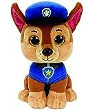 """TY Paw Patrol CHASE - Shepard Dog Regular 6"""" Size Plush"""