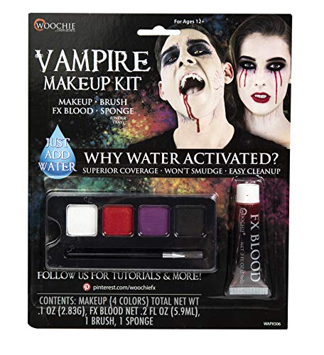 Woochie Water Activated 4-Color Make Up Palette