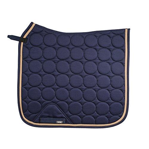 Horze Turner Extra Breathe Dressage Saddle Pad Peacoat Dark Blue Full Coat Pad