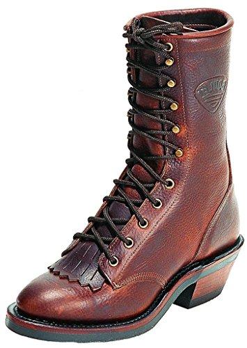 Bottes américaines - santiags: bottes de cowboy BO-8099-76-E (pied normal) - Homme - Marron